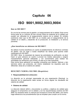 ISO 9001,9002,9003,9004