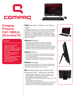 Compaq Presario CQ1-1008LA All-in-One PC
