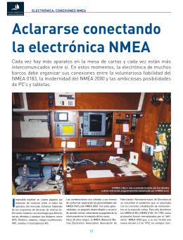 aclararse conectando la electrónica nMEa
