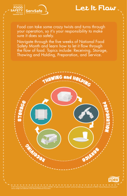 Let It Flow - National Food Safety Month