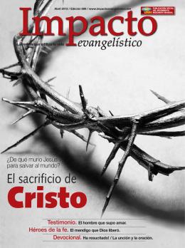 El sacrificio de - Impacto Evangelístico