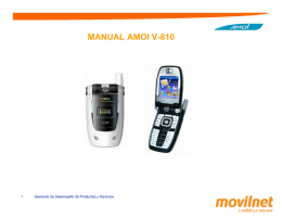 MANUAL AMOI V-810