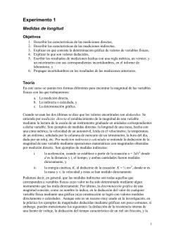 Exp. 1 Mediciones