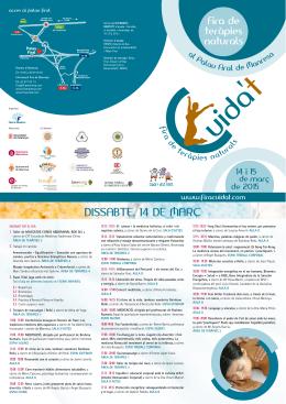 Féu click aquí per descarregar el Programa 2015