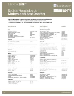 Red de Hospitales de Maternidad Best Doctors