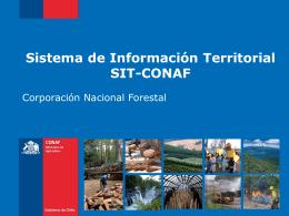 Sistema de Información Territorial SIT-CONAF