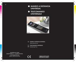 mando a distancia universal telecomando universale