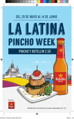 La Latina Pincho Week