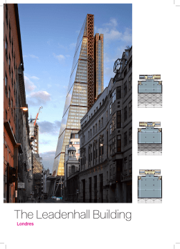 The Leadenhall Building - Rogers Stirk Harbour + Partners