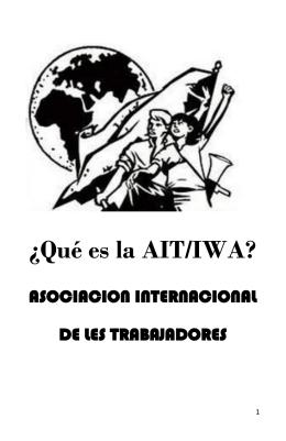 ¿Qué es la AIT/IWA? - Federación Anarquista Local de Valdivia