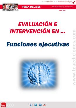 Funciones Ejecutivas Julio - 2013