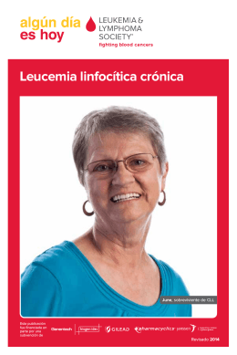 Leucemia linfocítica crónica - Leukemia & Lymphoma Society