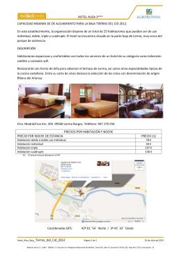 HOTEL ALISA 3*** Hotel_Alisa_Baja_Tierras_del_Cid_2012