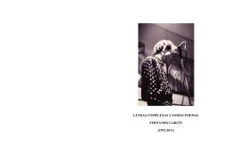 Castellano Letras completas 1992-2011