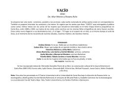 VACÍO - Teatro Abya Yala