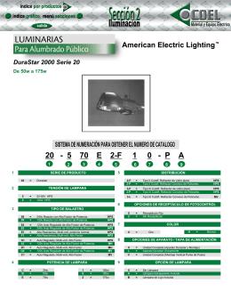 LUMINARIAS - coeliluminacion.com.mx