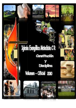 Constitución y Disciplina - Iglesia Evangélica Metodista de Costa Rica