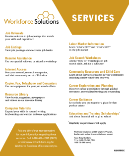 SERVICES - Workforce Solutions logo
