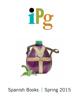Spanish Books Spring 2015 - Independent Publishers Group