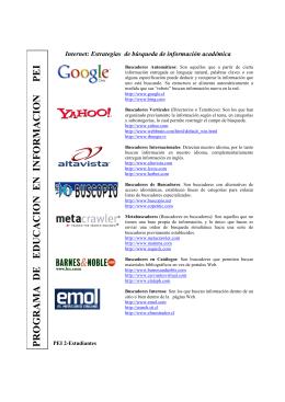 Sheet INTERNET PEI 2 Estudiantes