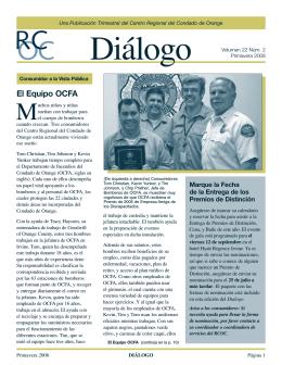 Diálogo - Regional Center of Orange County