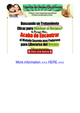 REVIEW Liberate del Herpes Eficazmente 907o