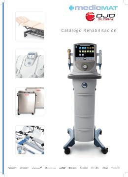 Catálogo de rehabilitación y fisioterapia