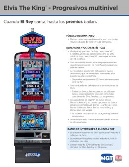 Elvis The King® - Progresivos multinivel