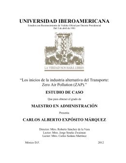 estudio de caso - Universidad Iberoamericana