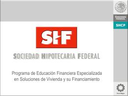 Presentación firma convenio SHF-FOVISSSTE