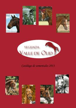 Catálogo de sementales 2013
