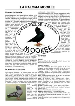 LA PALOMA MOOKEE
