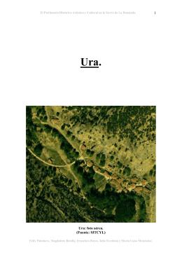 1 Ura: foto aérea. (Fuente: SITCYL)