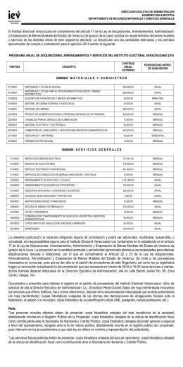 El Instituto Electoral Veracruzano en cumplimiento del artículo 17 de