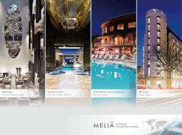 2.84 MB - Meliá Hotels International