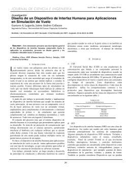 8. Diseño de un Dispositivo de Interfaz Humana para Aplicaciones
