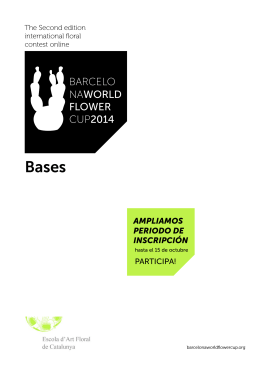 BARCELO NAWORLD FLOWER CUP2014