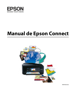 Manual de Epson Connect - Epson America, Inc.