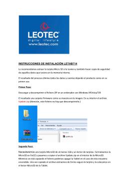Guía - Leotec