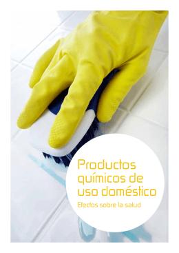 PRODUCTOS QUÍMICOS DE USO DOMÉSTICO