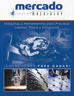 Máquinas y Herramientas para Procesar Lámina, Placa y Estructural