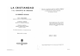 Las Cruzadas - WordPress.com