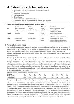 Tema 4. Estructuras de los sólidos