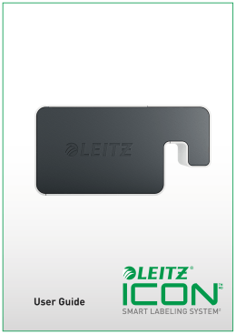 Leitz Icon Printer User Guide - Assets