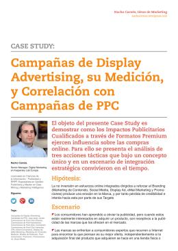 Campañas de Display Ad, su Medición, y