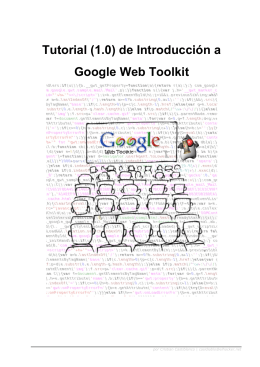 de Introducción a Google Web Toolkit