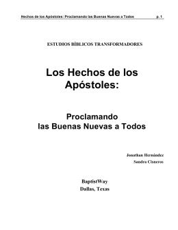 ESTUDIO BIBLICO TRANSFORMADOR