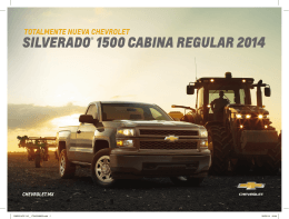SILVERADO® 1500 CABINA REGULAR 2014
