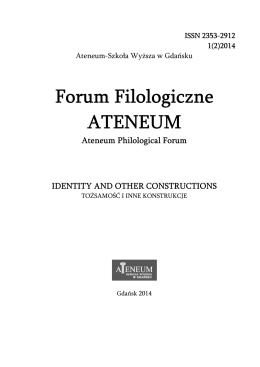 Forum Filologiczne ATENEUM