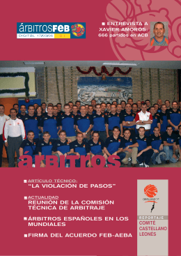 Árbitros FEB 01 - club del arbitro